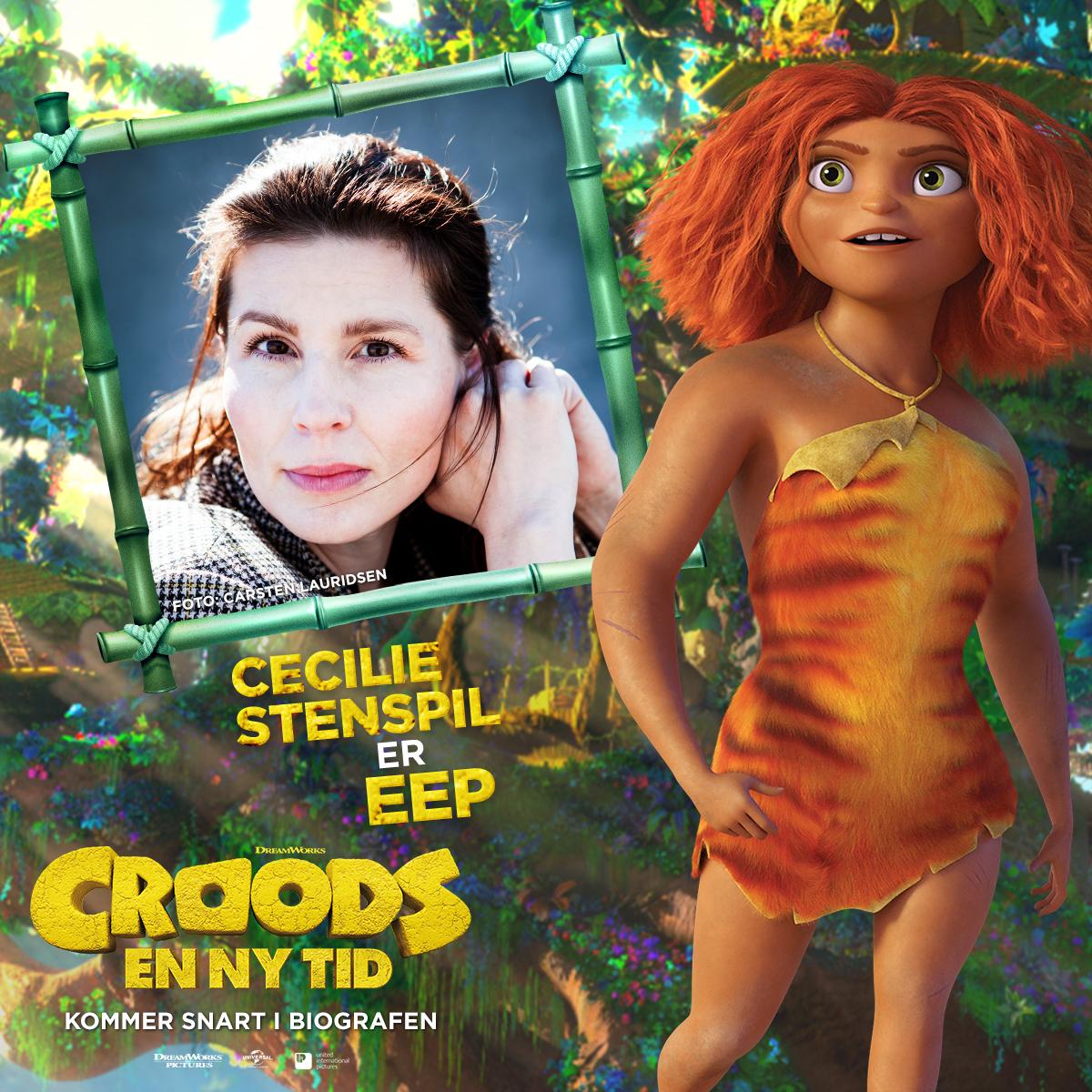 Croods - Karakterkort - Eep (Cecilie Stenspil)