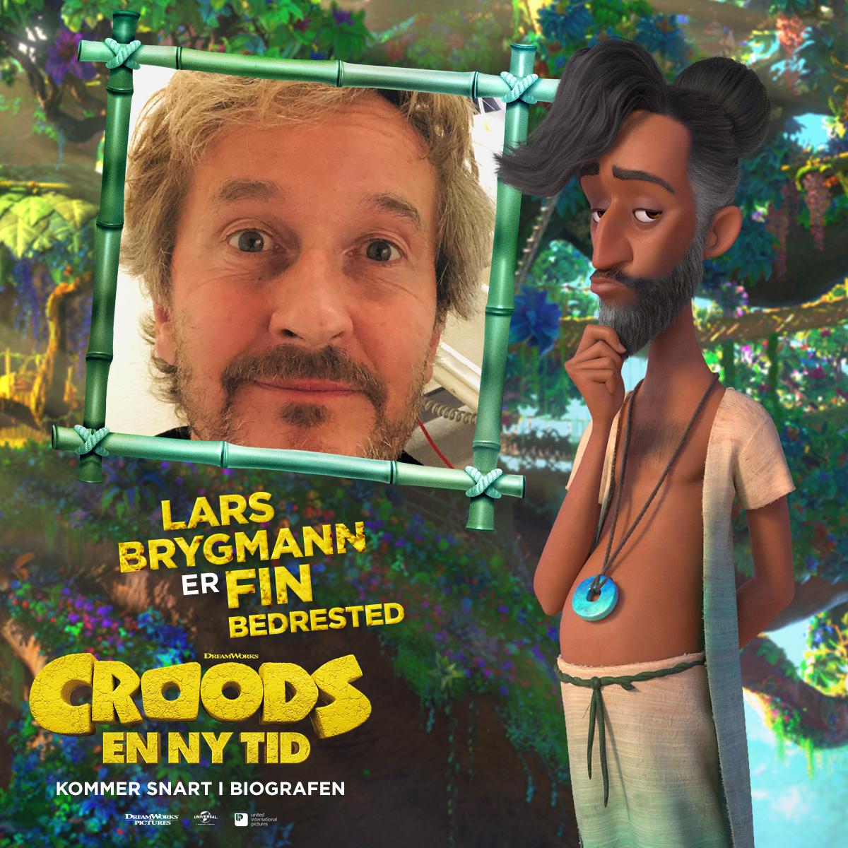 Croods - Karakterkort - Fin (Lars Brygmann)