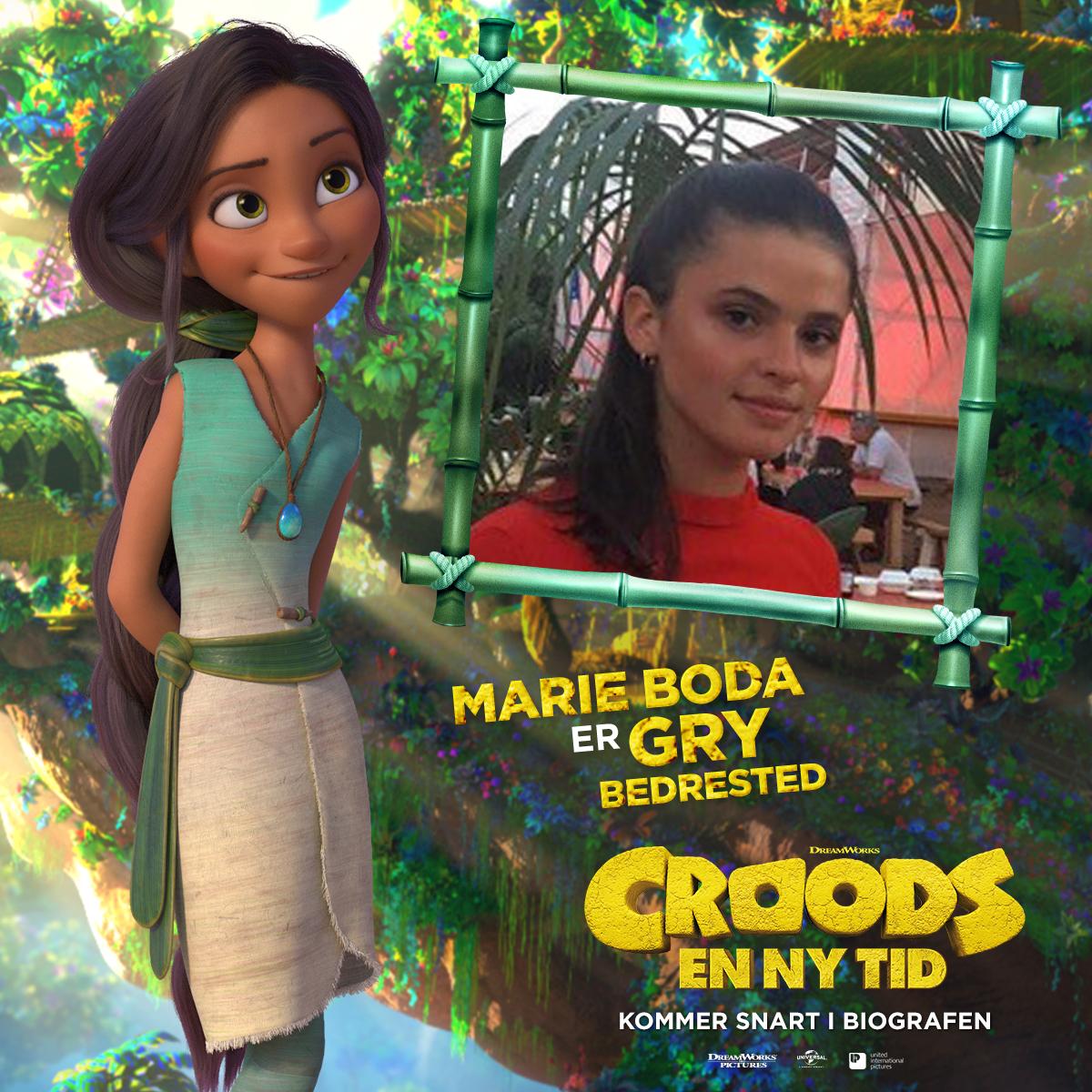 Croods - Karakterkort - Gry (Marie Boda)