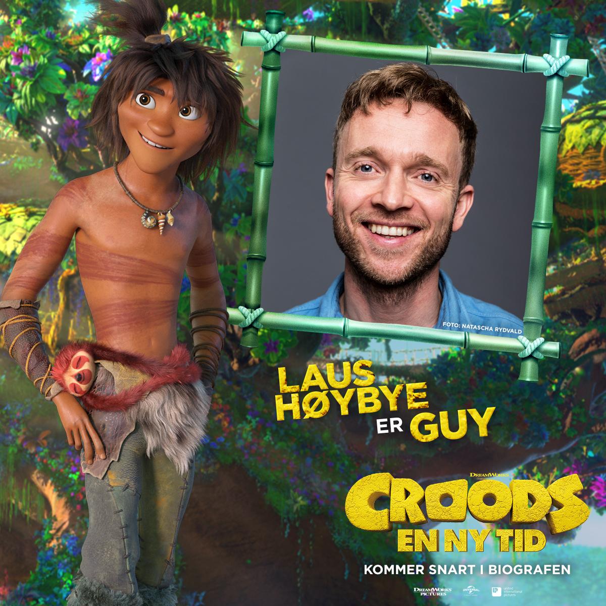 Croods - Karakterkort - Guy (Laus Høybye)
