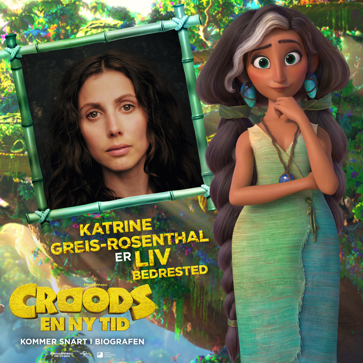 Croods - Karakterkort - Liv (Katrine Greis-Rosenthal)