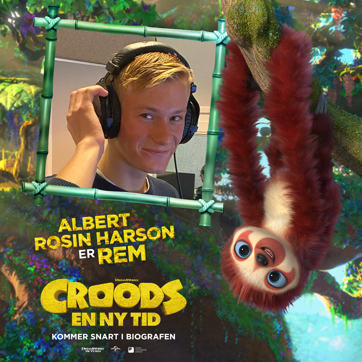 Croods - Karakterkort - Rem (Albert Rosin Harson) 3