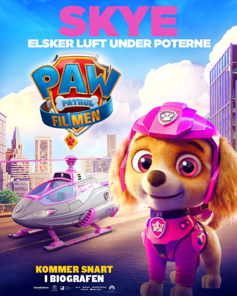 Paw Patrol Filmen - Karakterplakat - Skye