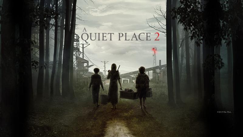 a quiet place 2 film - facebook banner