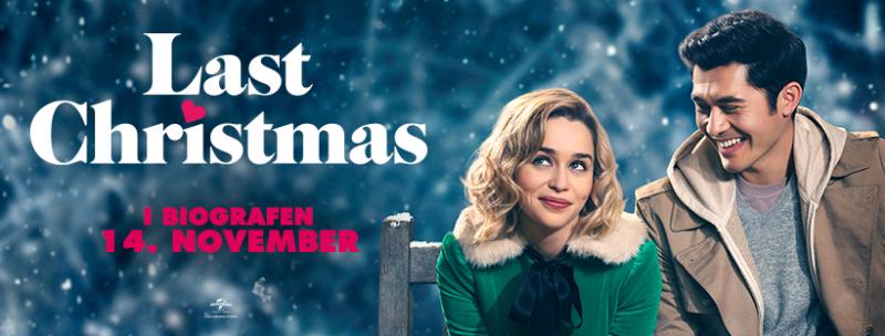 Last Christmas film Facebook banner