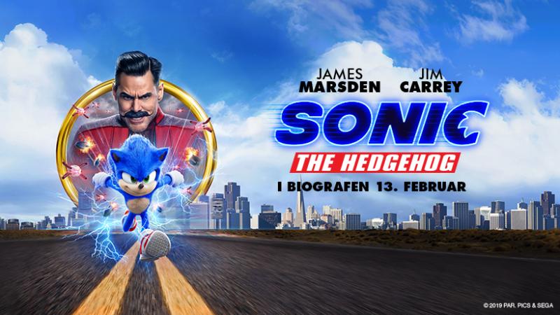 Sonic film - Facebook cover