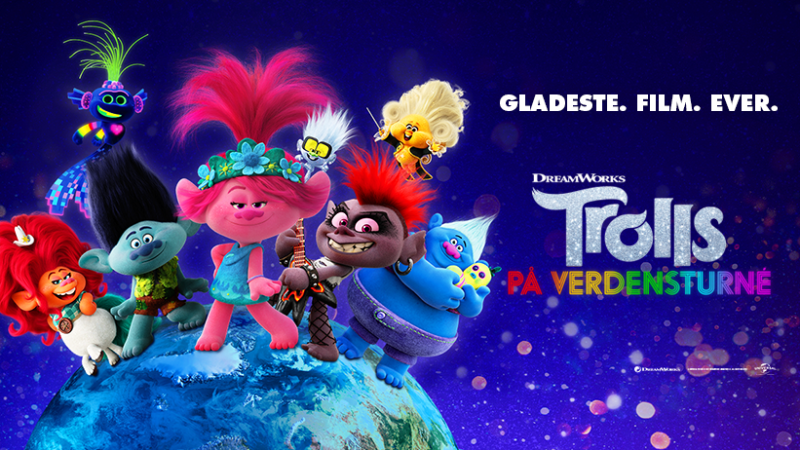 Trolls 2 film - Facebook cover banner